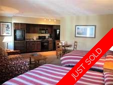 Whistler Apartment for sale: Blackcomb Lodge Studio 635 sq.ft. (Listed 2013-01-16)